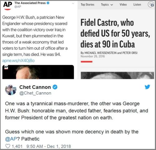 2018_12 01 AP Bush v Castro