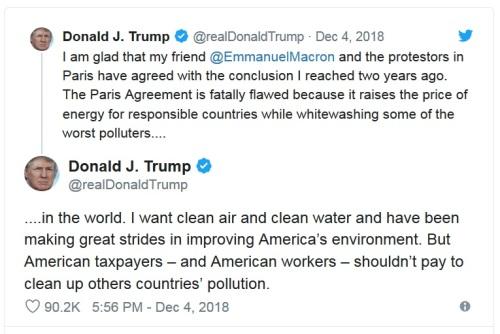 2018_12 04 Trump climate