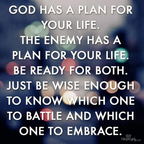 2018_12 06 Plans - God vs Satan
