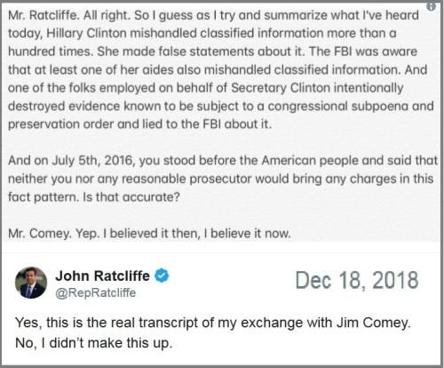 2018_12 18 Ratcliffe Comey