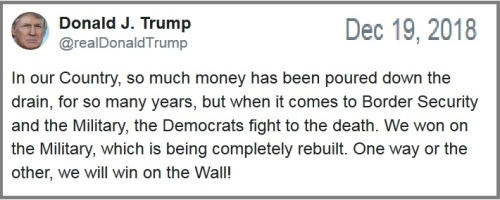 2018_12 19 Trump promises wall