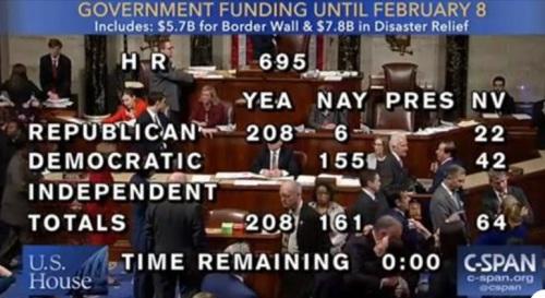 2018_12 20 House vote