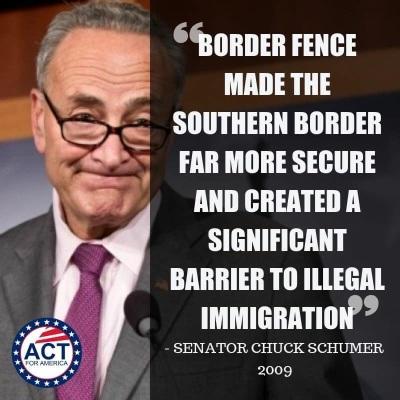 2009 schumer border fence