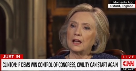 2018 hillary civility