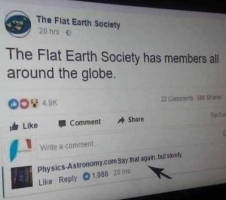 2019_01 09 flat earth society