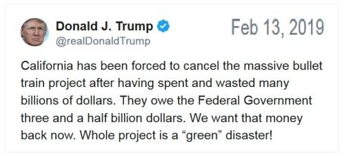 2019_02 13 Trump tweet