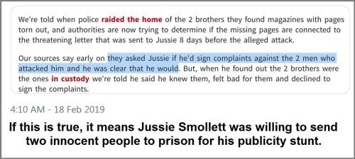 2019_02 18 Smollett testimony