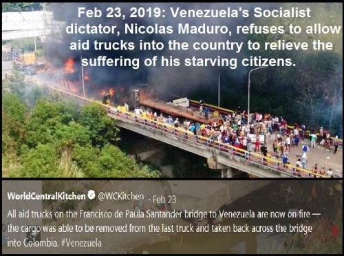 2019_02 23 Aid trucks Venezuela