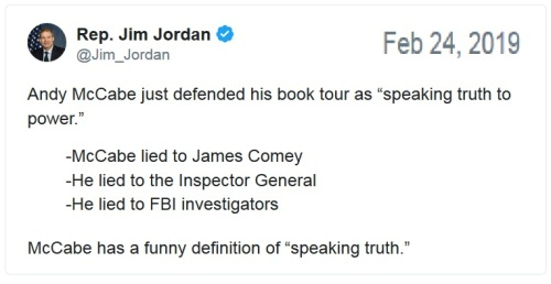 2019_02 24 McCabe's truth tweet