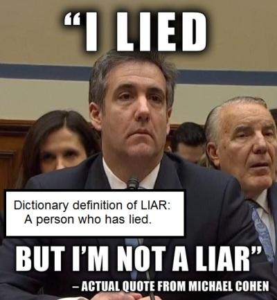 2019_02 27 Cohen liar