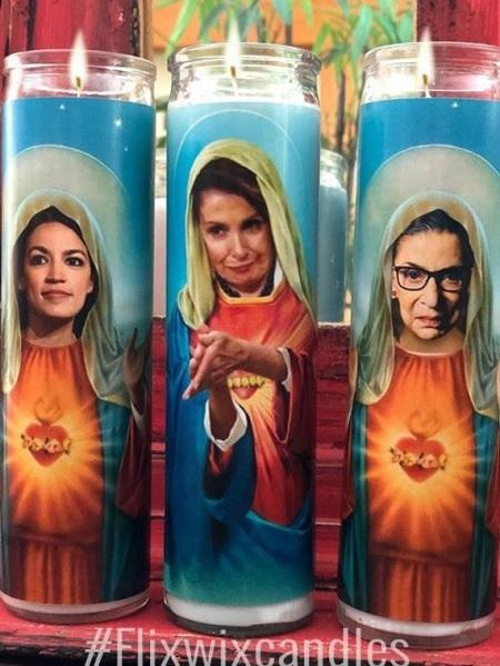 Blasphemy candles