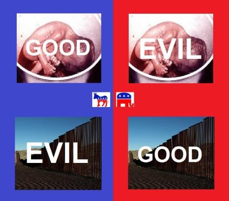 Dem wall abortion