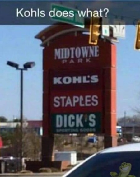 Kohl's does what