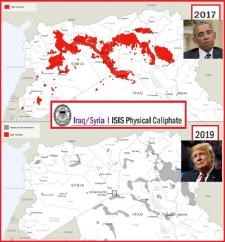 2017 2019 ISIS