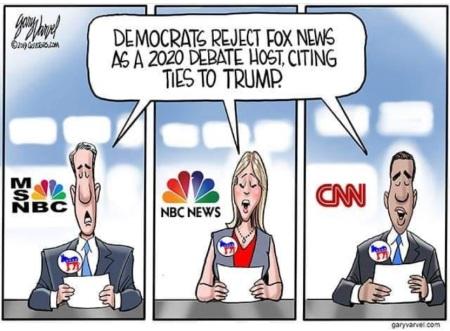 2019_03 09 Dems no FOX by Varvel