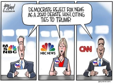 2019_03 09 Dems no FOX by Varvel