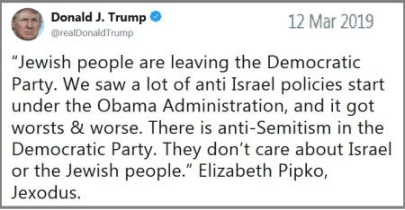 2019_03 12 Trump Jexodus tweet