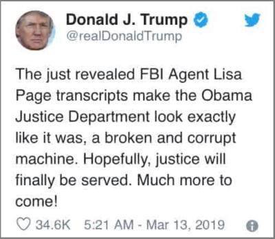 2019_03 13 Trump tweet