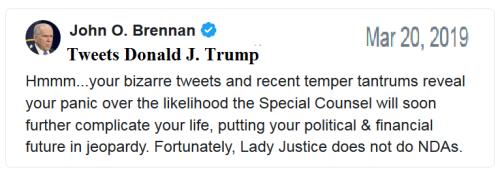 2019_03 20 Brennan tweets