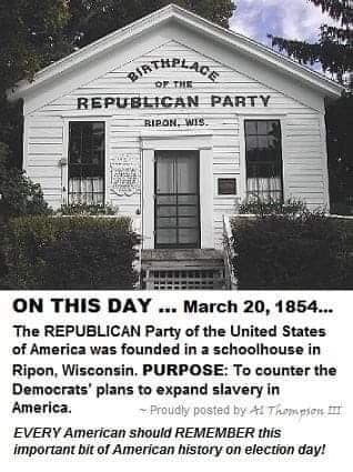 2019_03 20 GOP founded