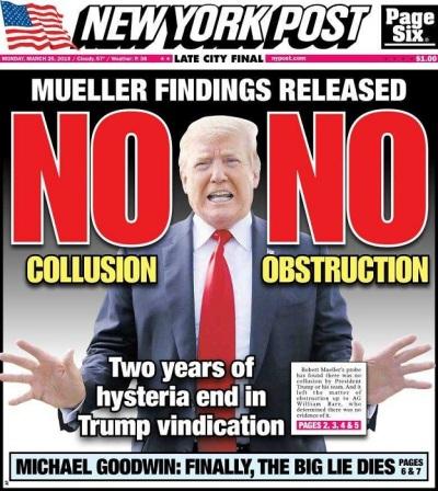 2019_03 24 NY Post NO collusion
