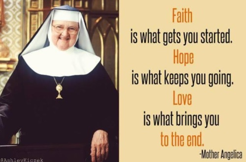 Faith Hope Love Mo Angelica