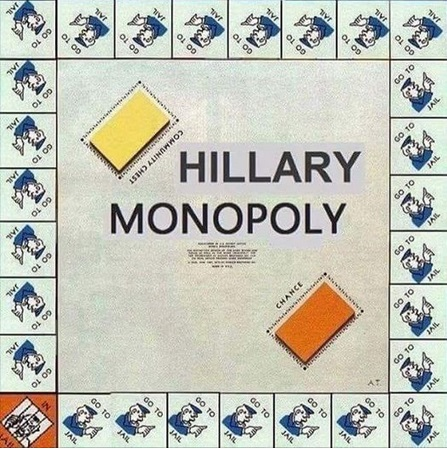 HILLARY Monopoly