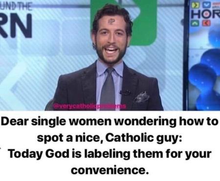 Nice Catholic guy