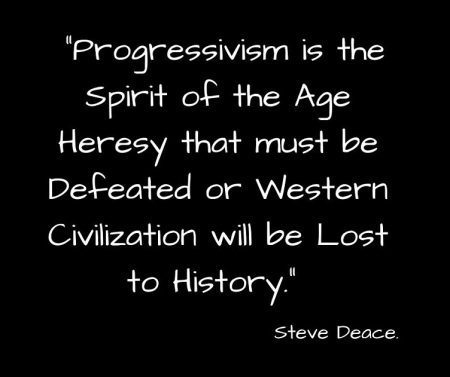 Progressivism spirit of age heresy