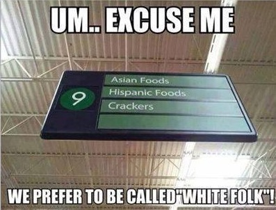 RACE White folk