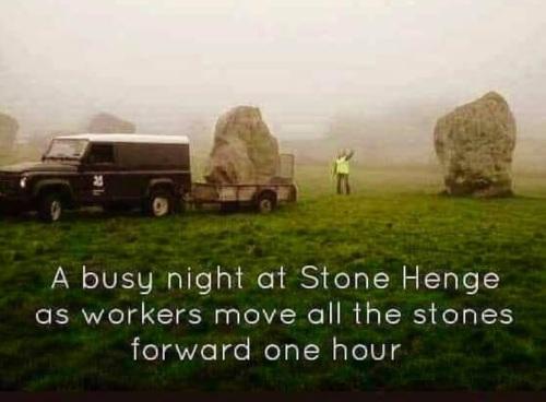 Stone Henge DST