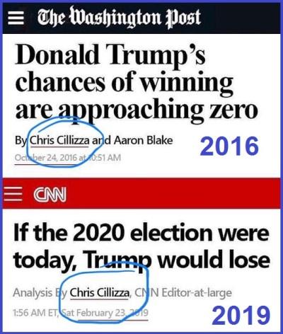 2016 2019 Trump's gonna lose
