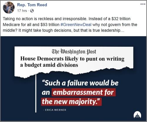 2019_04 03 Reed Dem budget