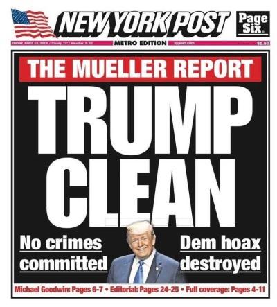 2019_04 Trump Clean NY Post
