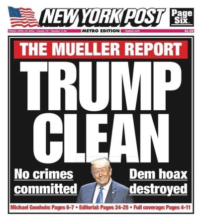 2019_04 Trump Clean NY Post