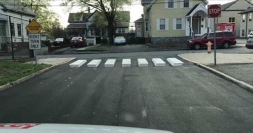3D crosswalks