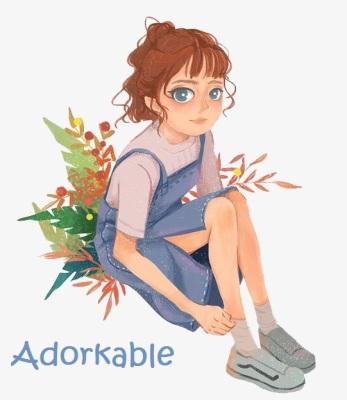 adorkable girl