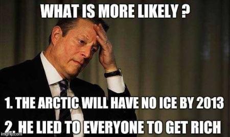 Al Gore lied
