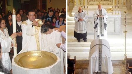 catholic baptism funeral