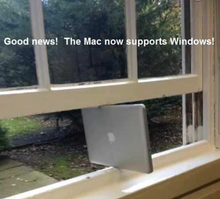 COMPUTER Mac now supports Windows