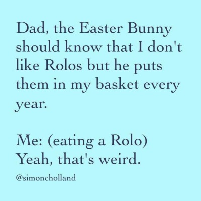 Easter Bunny and Rolos