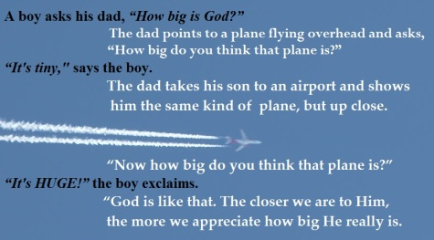God and airplane