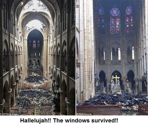 Hallelujah the windows survived