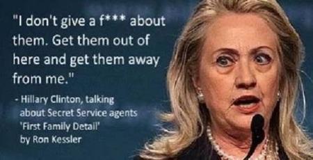 Hillary Secret Service