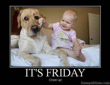 it's friday cheer up