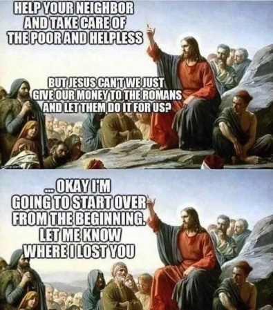 Jesus Help your neighbor