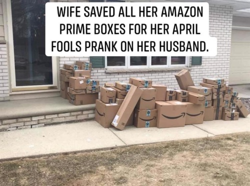 MARRIAGE Amazon prank