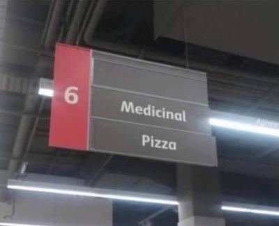 Medicinal pizza