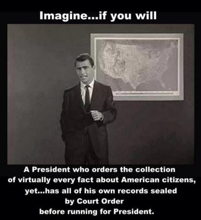 OBAMA Twilight Zone president