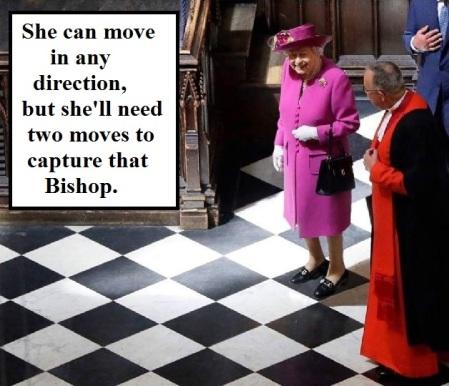 Queen to Bishop